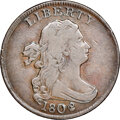 1802/0 Reverse of 1802, C-2, B-2, R.2, VF30 NGC. Our EAC grade Fine 15. ...(PCGS# 35125)
