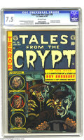 Golden Age (1938-1955):Horror, Tales From the Crypt #36 (EC, 1953) CGC VF- 7.5 Off-white pages.Ray Bradbury adaptation. Al Feldstein, Jack Davis, Jack Kam...