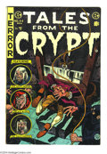 Golden Age (1938-1955):Horror, Tales From the Crypt #44 (EC, 1954) Condition: FN+. Jack Daviscover. Davis, Reed Crandall, Jack Kamen, and Graham Ingels ar...
