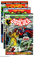 Bronze Age (1970-1979):Horror, Tomb of Dracula Group (Marvel, 1973-74). This lot consists ofissues #8 (FN+); 9 (FN/VF); 11 (VF+); and 17 (VF-). Gene Colan...(Total: 4 Comic Books Item)