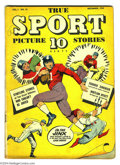 Golden Age (1938-1955):Non-Fiction, True Sport Picture Stories #10 (Street & Smith, 1942)Condition: VG+. Overstreet 2004 VG 4.0 value = $42....