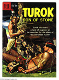 Silver Age (1956-1969):Adventure, Turok #17 (Gold Key, 1959) Condition: FN/VF. Prehistoric Pygmies story. Overstreet 2004 FN 6.0 value = $33; VF 8.0 value = $...