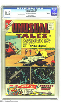 Unusual Tales #26 Bethlehem pedigree (Charlton, 1961) CGC VF+ 8.5 Off-white to white pages. Steve Ditko cover and art. A...