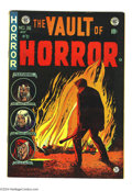 "Golden Age (1938-1955):Horror, Vault of Horror #36 (EC, 1954) Condition: FN+. Johnny Craig cover.Overstreet notes, ""classic opium addict story by Krigstei..."