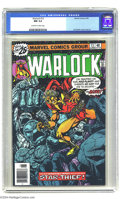 Bronze Age (1970-1979):Superhero, Warlock #13 (Marvel, 1976) CGC NM 9.4 Off-white to white pages. Jim Starlin cover and art. Overstreet 2004 NM- 9.2 value = $...