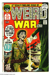 Weird War Tales #4 (DC, 1972) Condition: NM-. Joe Kubert cover. Kubert, Irv Novick, Gene Colan, Mort Meskin, Sam Glanzma...