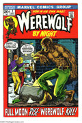 Bronze Age (1970-1979):Horror, Werewolf by Night #1 (Marvel, 1972) Condition: VF/NM. Mike Ploogart. Overstreet 2004 VF/NM 9.0 value = $93; NM- 9.2 value =...