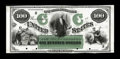 Large Size:Demand Notes, Fr. 199 Hessler ITE12 $100 1863 Interest Bearing Note Face ProofChoice Crisp Uncirculated....