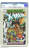 Bronze Age (1970-1979):Superhero, X-Men #108 (Marvel, 1977) CGC NM/MT 9.8 Off-white to white pages.John Byrne's first issue as artist on this title. Dave Coc...