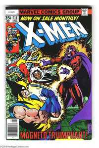 X-Men #112 (Marvel, 1978) Condition: VF/NM. The X-Men fight Magneto deep below a volcano. George Perez and Bob Layton co...
