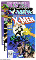 Modern Age (1980-Present):Superhero, X-Men Group (Marvel, 1989-90) Condition: Average NM+. This groupincludes two copies of #249, three copies of #250, four cop...(Total: 35 Comic Books Item)