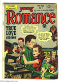 Golden Age (1938-1955):Romance, Young Romance Comics #8 (Prize, 1948) Condition: VG+. Cover and artby Joe Simon and Jack Kirby. Overstreet 2004 VG 4.0 valu...