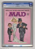 Magazines:Mad, Mad #104 Gaines File pedigree (EC, 1966) CGC NM- 9.2 White pages.Norman Mingo cover. Mort Drucker and Al Jaffee art. Overst...