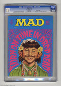 """Magazines:Mad, Mad #118 Gaines File pedigree (EC, 1968) CGC VF- 7.5 White pages.""""Mission Impossible"""" spoof. Norman Mingo cover. Jack Davis..."""