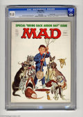 Magazines:Mad, Mad #184 Gaines File pedigree (EC, 1976) CGC VF/NM 9.0 White pages.Mort Drucker, Jack Davis, and Don Martin art. Overstreet...