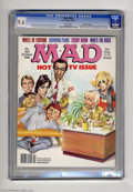 """Magazines:Mad, Mad #266 Gaines File Pedigree (EC, 1986) CGC NM+ 9.6 White pages.Special TV issue. Mort Drucker wraparound cover. """"Who's th..."""