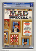 """Magazines:Mad, Mad Special #2 (EC, 1971) CGC VF/NM 9.0 Off-white to white pages.Includes 16 """"Wall Nuts"""" pin-ups. Bob Clarke cover. Clarke ..."""