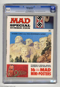 Magazines:Mad, Mad Special #4 (EC, 1971) CGC NM 9.4 Off-white to white pages.Includes 16 full-color mini-posters. Norman Mingo and Bob Cla...