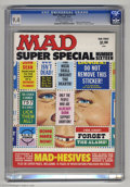 """Magazines:Mad, Mad Super Special #16 (EC, 1975) CGC NM 9.4 Off-white to whitepages. Includes """"Mad-hesive"""" stickers. This is the highest-gr..."""