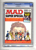 Magazines:Mad, Mad Super Special #18 (EC, 1975) CGC NM 9.4 Off-white to whitepages. Includes the comic book The Nostalgic Mad #4. Over...