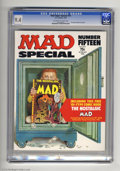 Bronze Age (1970-1979):Humor, Mad Super Special #15 (EC, 1974) CGC NM 9.4 Off-white to white pages. Nostalgic Mad #3 included. Overstreet 2004 NM- 9.2...