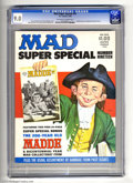 Magazines:Mad, Mad Super Special #19 (EC, 1976) CGC VF/NM 9.0 Off-white to white pages. Includes bonus 24 page bicentennial issue. Norman M...