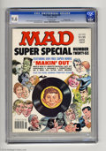 "Magazines:Mad, Mad Super Special #26 Gaines File pedigree (EC, 1978) CGC NM+ 9.6Off-white pages. Mort Drucker cover. Includes ""Makin' Out""..."