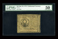Colonial Notes:Continental Congress Issues, Continental Currency May 10, 1775 $30 PMG About Uncirculated 50....