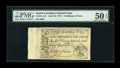 Colonial Notes:South Carolina, South Carolina April 10, 1778 2s/6d PMG About Uncirculated 50EPQ....