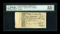 Colonial Notes:South Carolina, South Carolina April 10, 1778 5s PMG About Uncirculated 53 EPQ....