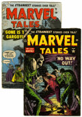 Golden Age (1938-1955):Horror, Marvel Tales #123 and 127 Group (Atlas, 1954) Condition: AverageGD/VG.... (Total: 2 Comic Books)