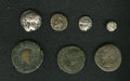 Ancients:Ancient Lots, Ancients: Lot of seven miscellaneous Greek and Roman Provincial coins depicting war galleys.... (Total: 7 coins)