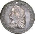 Indian Peace Medals, 1757-Dated George II Indian Peace Medal, Treaty of Easton, Betts-401, Julian IP-49, MS62 NGC. ...