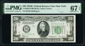Fr. 2056-B $20 1934B Federal Reserve Note. PMG Superb Gem Unc 67 EPQ