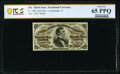 Fractional Currency:Third Issue, Fr. 1298 25¢ Third Issue PCGS Banknote Gem Unc 65 PPQ.. ...