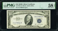 Small Size:Silver Certificates, Fr. 1708 $10 1953B Silver Certificate. PMG Choice About Unc 58 EPQ.. ...