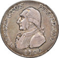 1792 Washington Perkins Pattern Half Dollar, Eagle and Stars Reverse, Silver, Lettered Edge, XF40 NGC. Baker-20, W-10675...