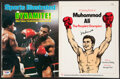 Boxing Collectibles:Autographs, Mike Tyson & Muhammad Ali Single Signed Publications. ...