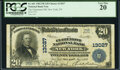 National Bank Notes:New York, New York, NY - $20 1902 Plain Back Fr. 661 The Claremont National Bank Ch. # 13027 PCGS Very Fine 20.. ...