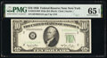 Small Size:Federal Reserve Notes, Fr. 2010-B $10 1950 Wide Federal Reserve Note. PMG Gem Uncirculated 65 EPQ.. ...