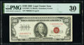 Small Size:Legal Tender Notes, Fr. 1550* $100 1966 Legal Tender Star Note. PMG Very Fine 30.. ...