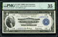 Large Size:Federal Reserve Bank Notes, Fr. 743 $1 1918 Federal Reserve Bank Note PMG Choice Very Fine 35.. ...