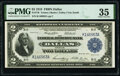 Large Size:Federal Reserve Bank Notes, Fr. 776 $2 1918 Federal Reserve Bank Note PMG Choice Very Fine 35.. ...