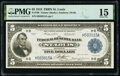 Fr. 796 $5 1918 Federal Reserve Bank Note PMG Choice Fine 15