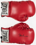 Boxing Collectibles:Autographs, Muhammad Ali Signed Everlast Glove....