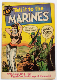 Tell it to the Marines #4 (Toby Publishing, 1952) Condition: GD/VG