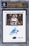 Basketball Cards:Singles (1980-Now), 2009-10 Exquisite Collection Stephen Curry (Exquisite Rookie Autograph) #72 BGS Gem Mint 9.5 - #'d 190/225....