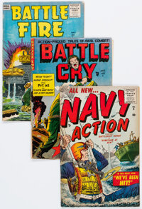 Golden Age War Comics Group of 8 (Various Publishers, 1950s) Condition: Average VG-.... (Total: 8 Comic Books)