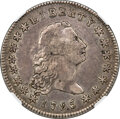 Early Dollars, 1795 $1 Flowing Hair, Three Leaves, B-7, BB-18, R.3, XF40 NGC....