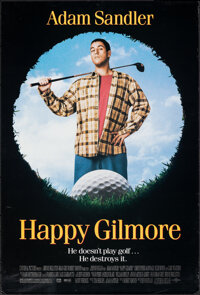 """Happy Gilmore & Other Lot (Universal, 1996). Rolled, Overall: Very Fine-. One Sheets (2) (26.75"""" X 39.75""""..."""
